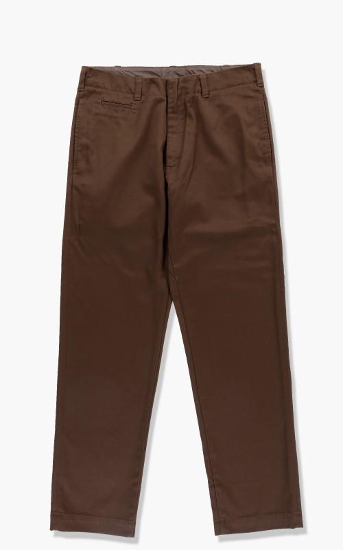 Nanamica Straight Chino Pants Brown