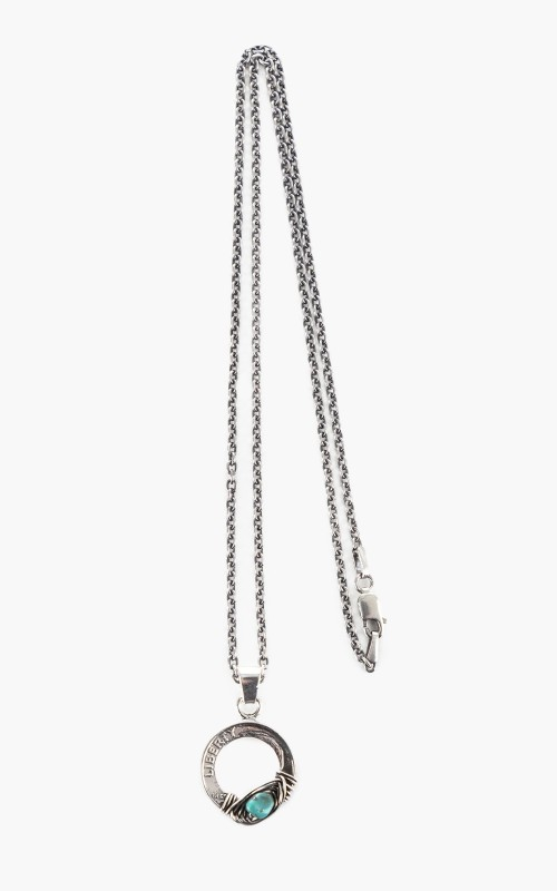 North Works N-617B Necklace 925 Silver Liberty One Dime Coin