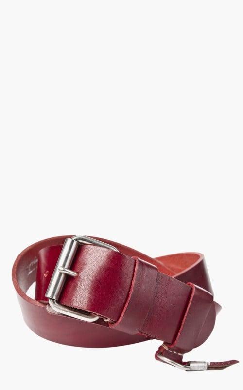 Dukes Plain Belt Redbrown 4,5cm