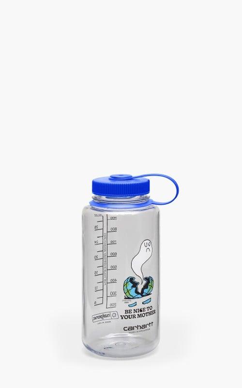 Carhartt WIP x Nalgene Nice To Mother Plastic Bottle Transparent