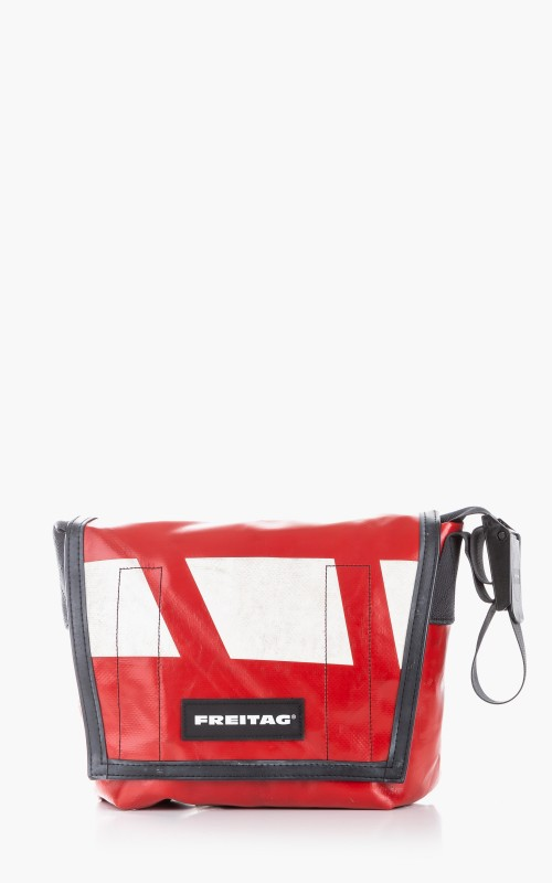 Freitag F11 Lassie Messenger Bag Classic S Red 6-7