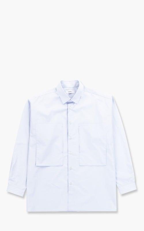 Markaware 'Marka' Patch Pocket Typewriter Shirt Lavender