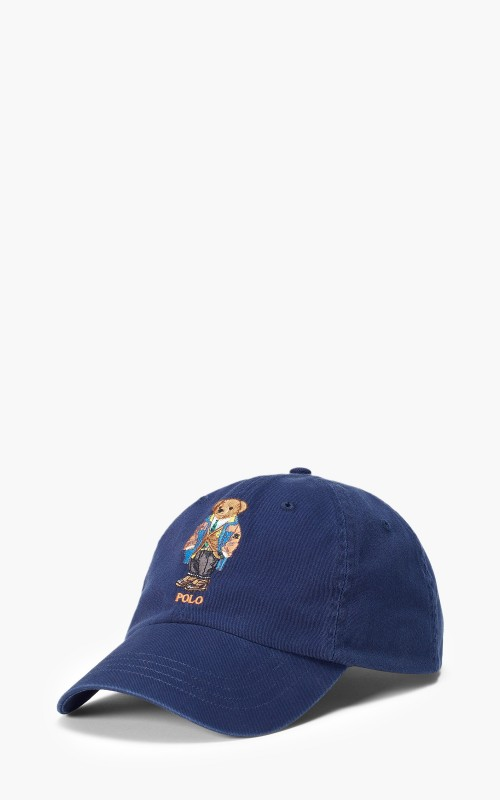 Polo Ralph Lauren Polo Bear Chino Ball Cap Navy
