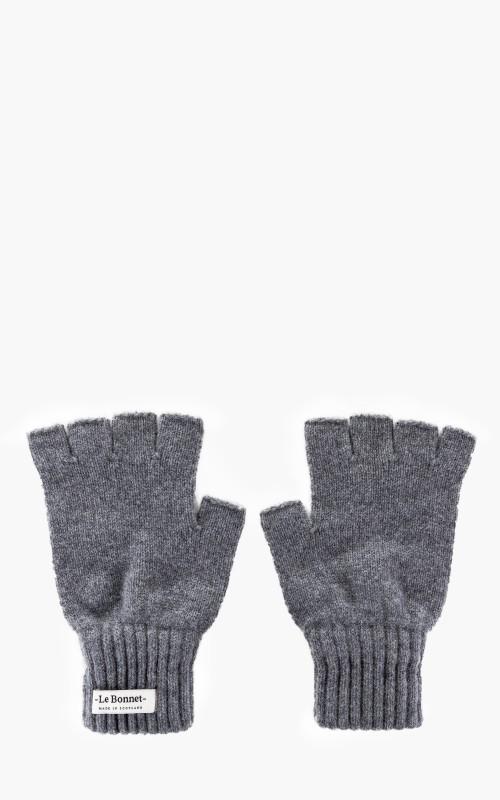 Le Bonnet Gloves Fingerless Smoke