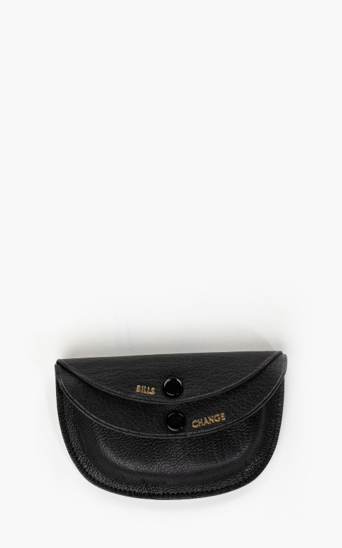Kaptain Sunshine x Porter Round Wallet Black