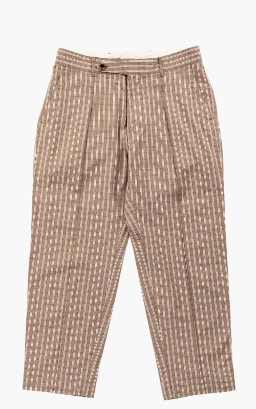 Eastlogue Seersucker Pants Beige