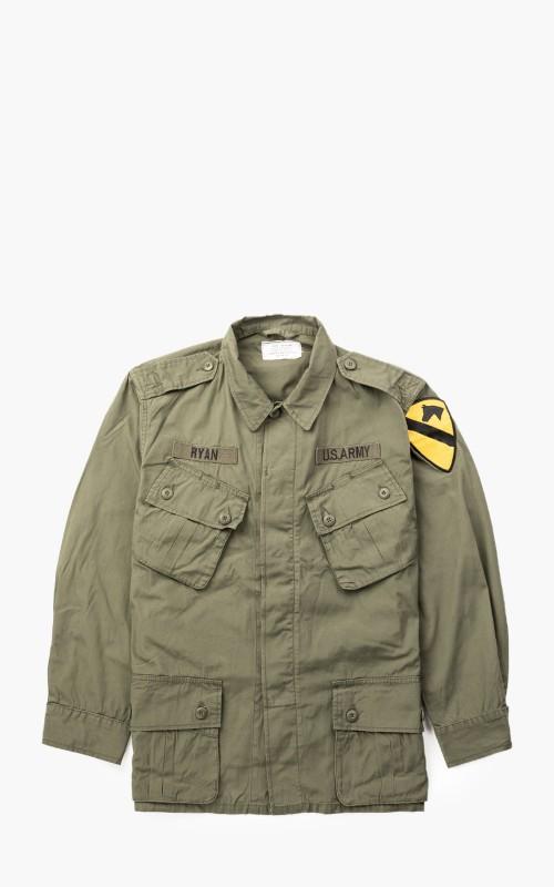 Military Surplus US Jungle Fatigue Jacket M64 Olive