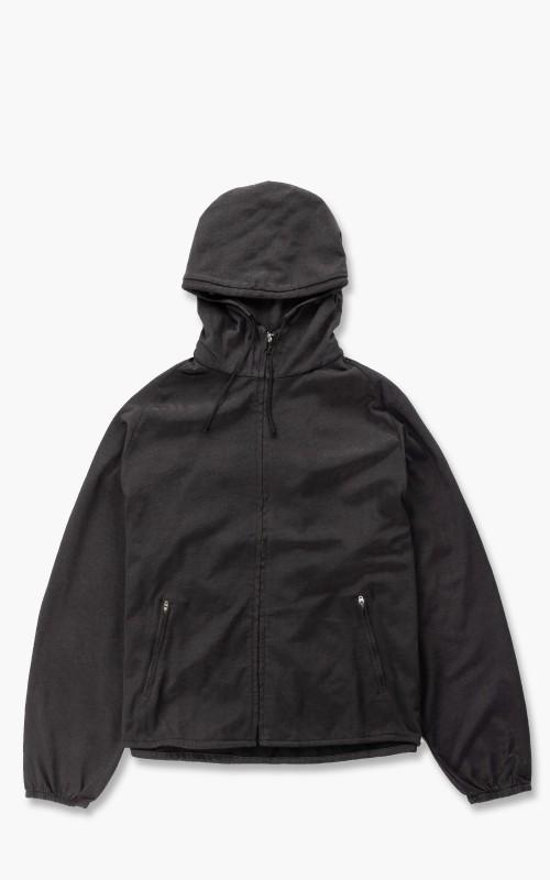 Lady White Co. Hooded Nylon Jacket Charcoal
