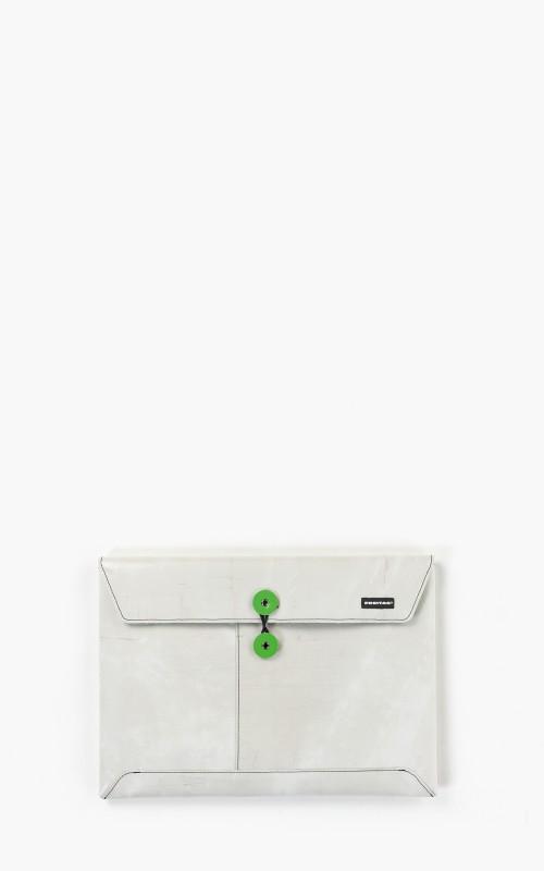"Freitag F411 Sleeve Padded Laptop Envelope 13"" Silver 6-2"