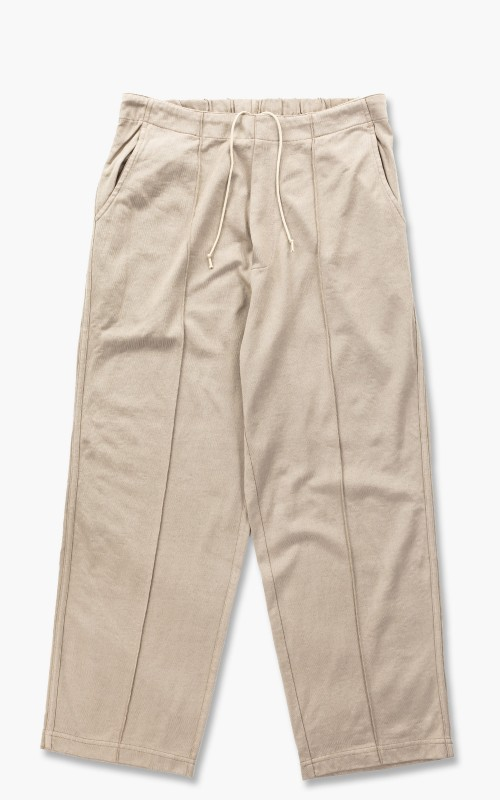 Lady White Co. Band Pant Creampearl