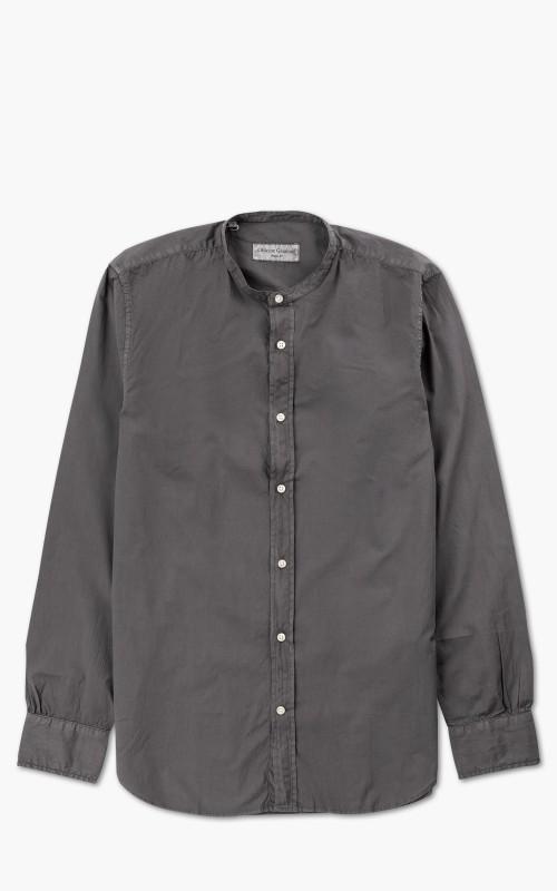 Officine Generale Gaspard Shirt Pigment Dyed Seersucker Magnet