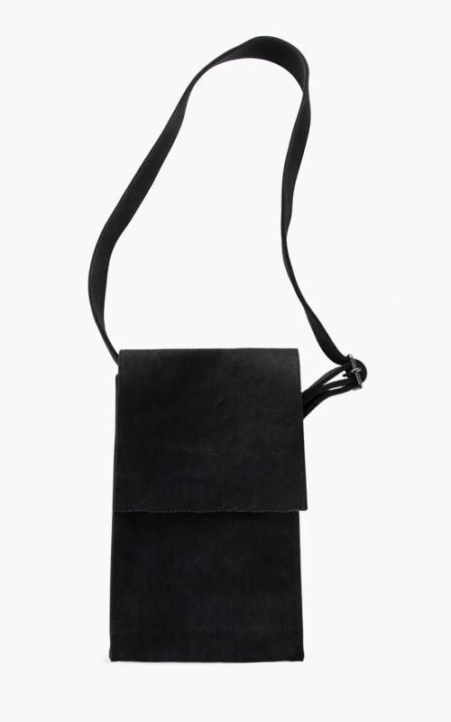 Amiacalva Canvas Shoulder Bag S Black