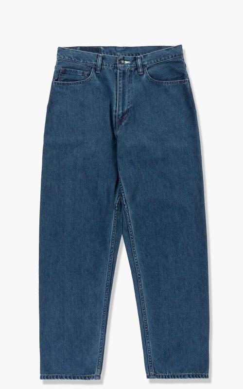 Nanamica 5 Pocket Pants Indigo Bleach