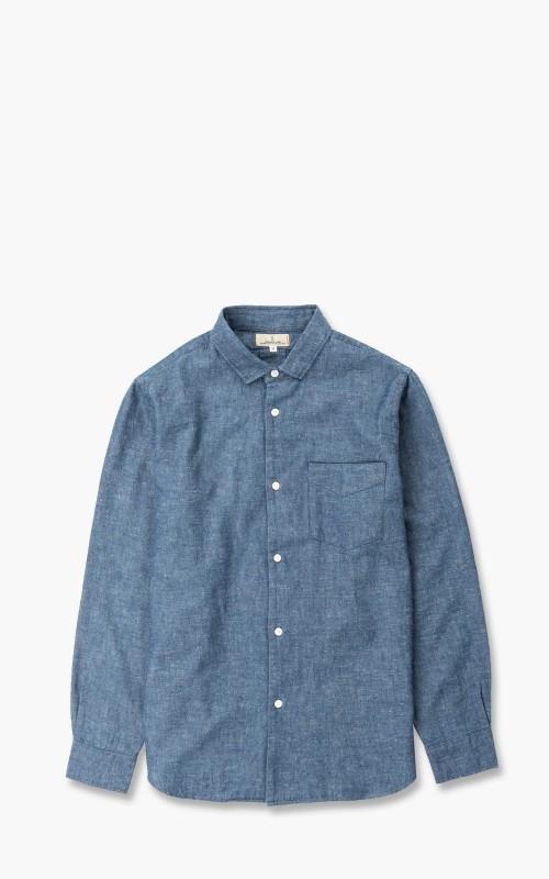 Japan Blue Banana Cotton Chambray Shirt