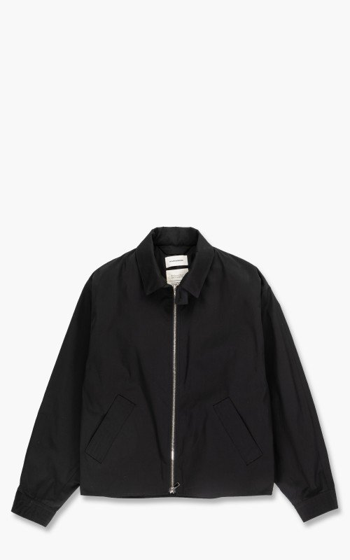 Markaware Biodynamie x Silk Type Writer Short Jacket Black