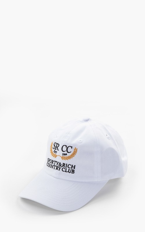 Sporty & Rich Country Club Hat White