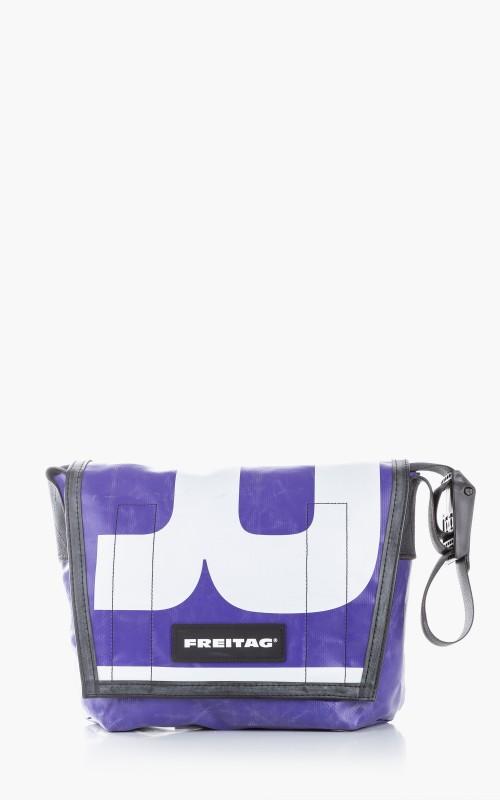 Freitag F11 Lassie Messenger Bag Classic S Blue 6-8
