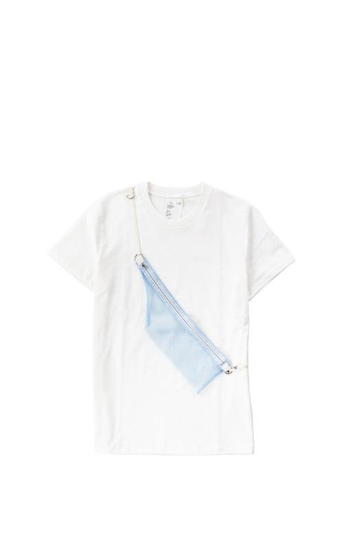 Helmut Lang Standard Tee Pocket Chalk White